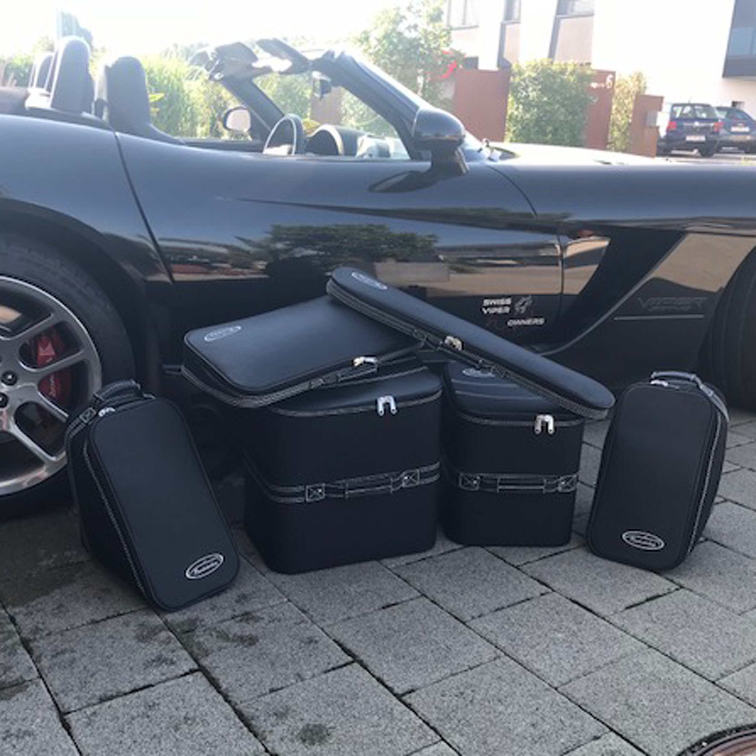 6-tlg. Kofferset Dodge Viper Cabrio (2003-2010)