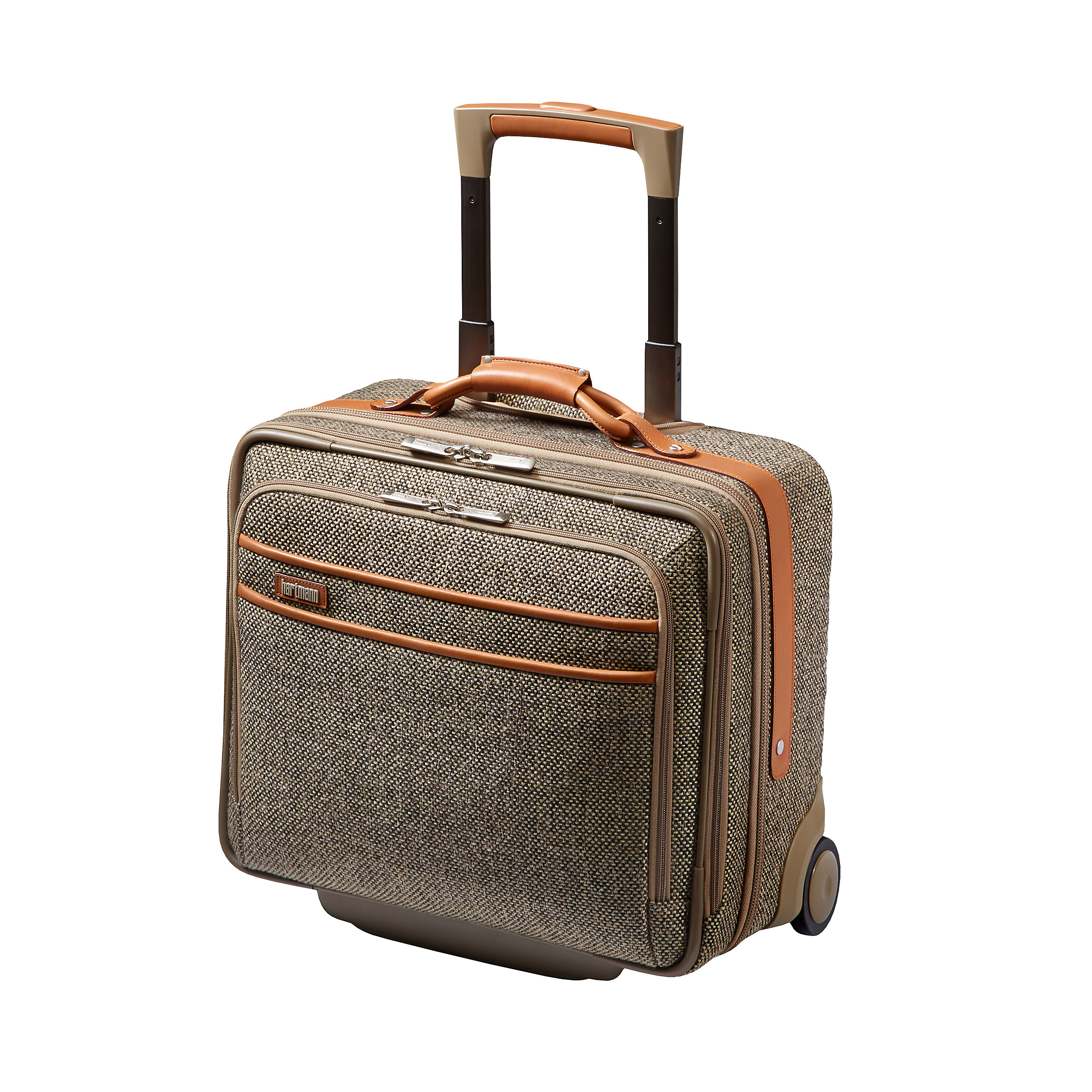 Pilot Case with 2 wheels 42cm Tweed Belting Collection XS 29 Liter