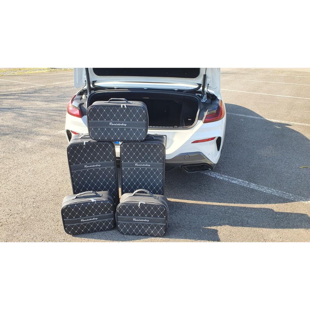 5-tlg. Kofferset mit 2 Rollen BMW 8er Cabrio (G14)