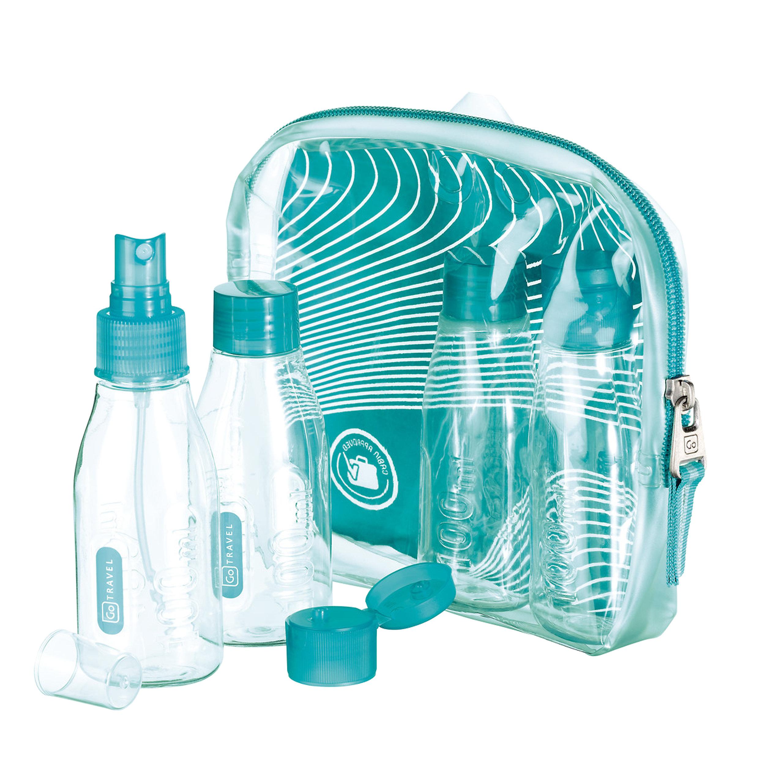 4-tlg. Kabinenflaschen-Set