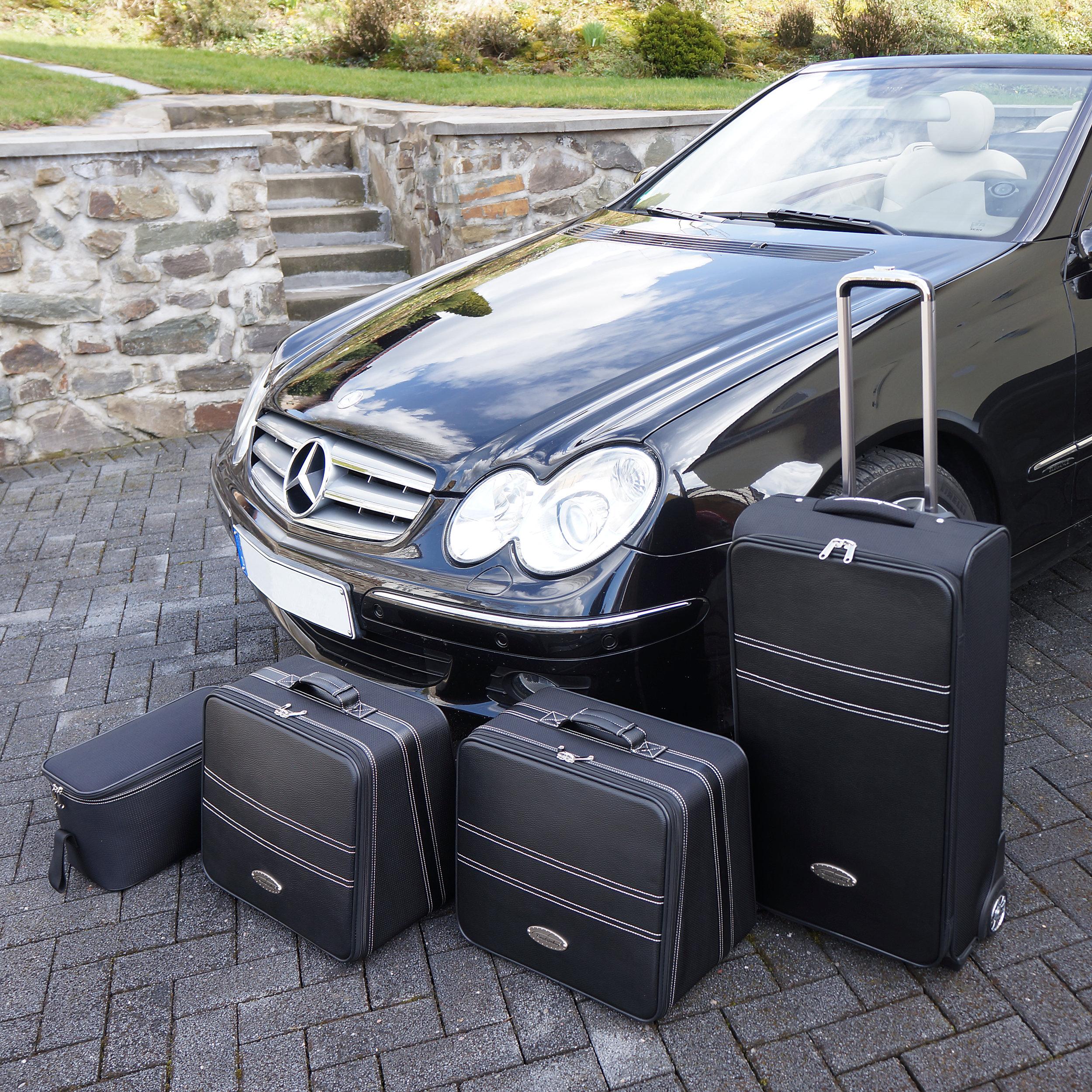 4-tlg. Kofferset mit 2 Rollen Mercedes CLK Cabrio (W208/W209) 142 Liter