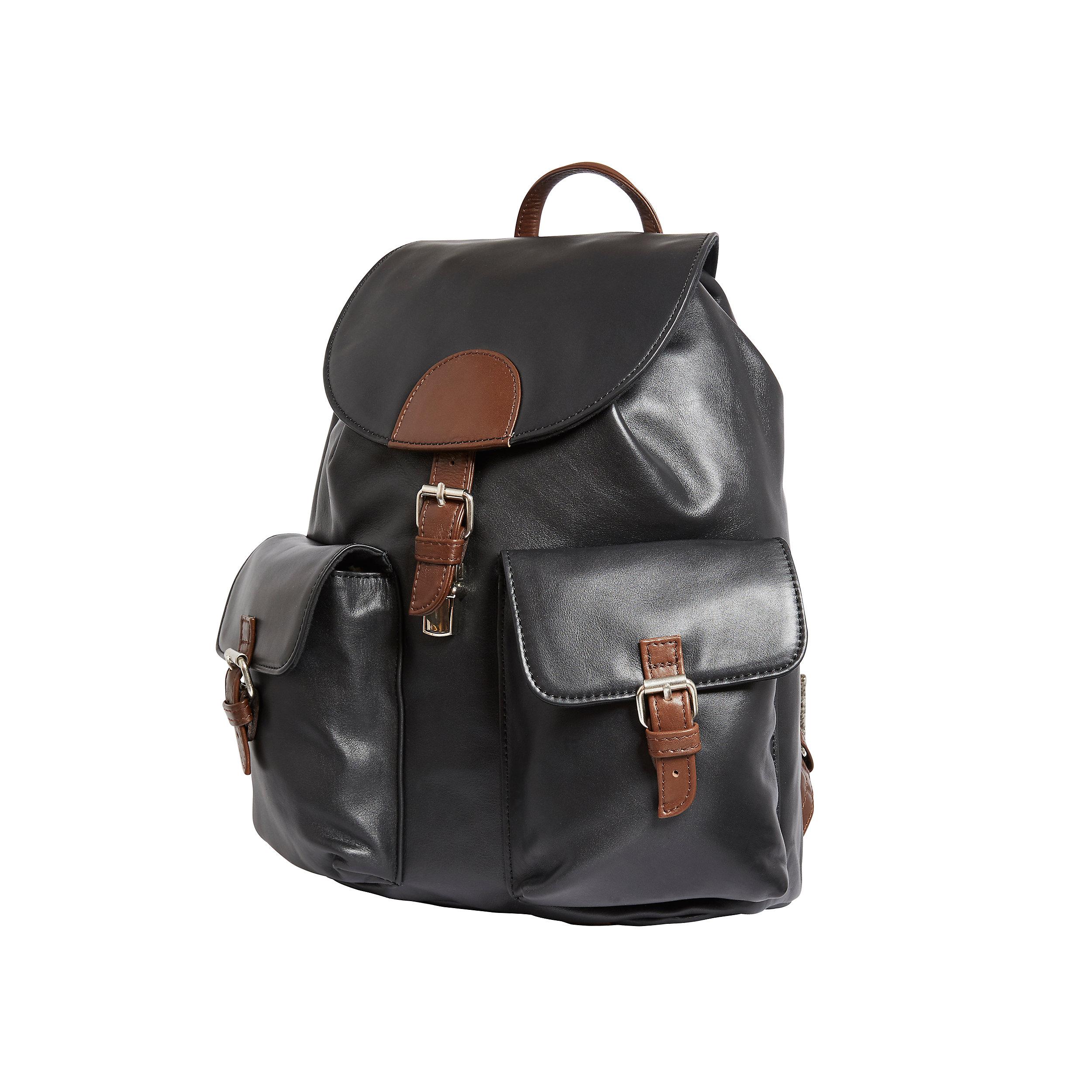 Rucksack mit Überschlag und 2 Frontfächern