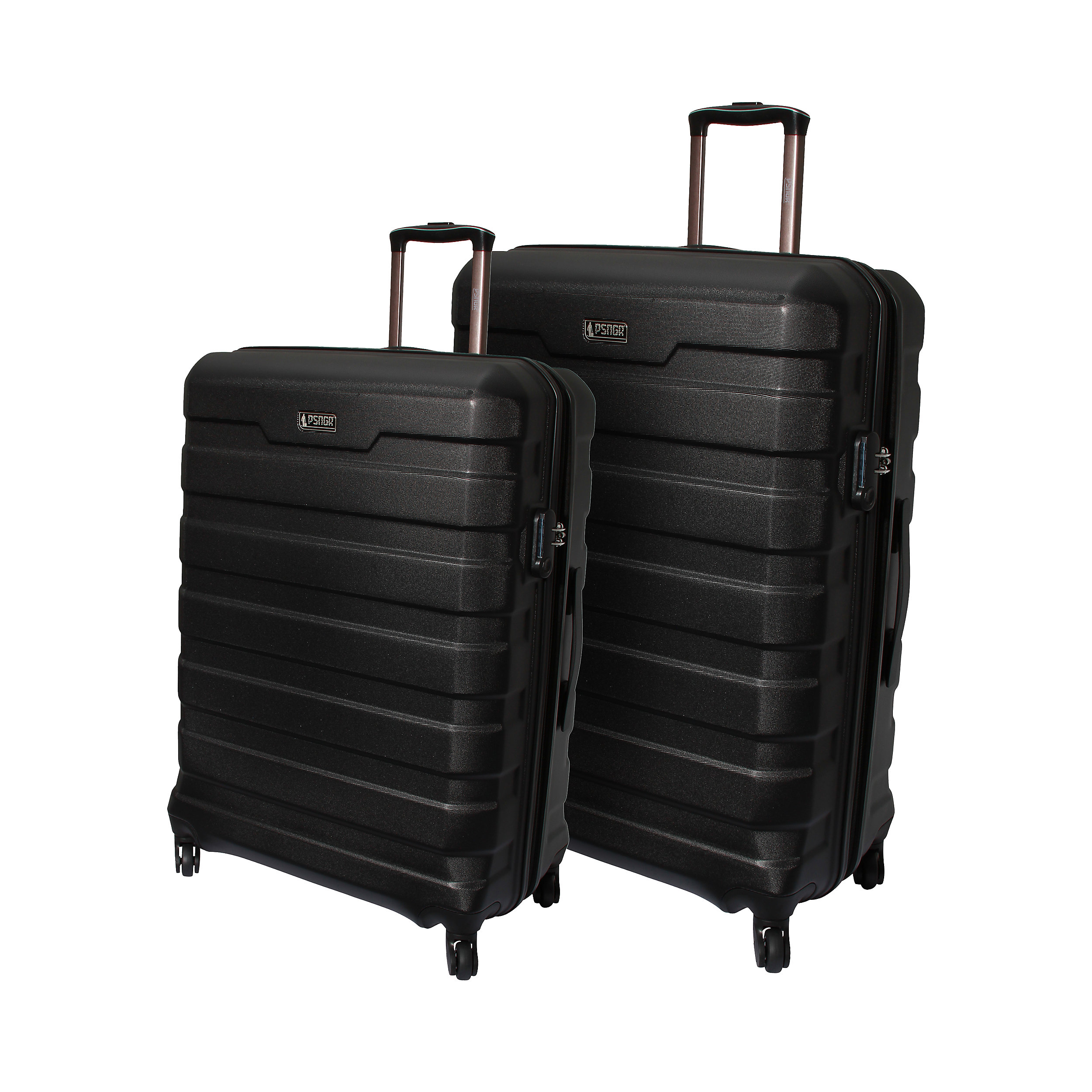 2-part Trolley Set with 4 wheels with 4 wheels 66/76 cm EXP Chicago M/L 185 Liter