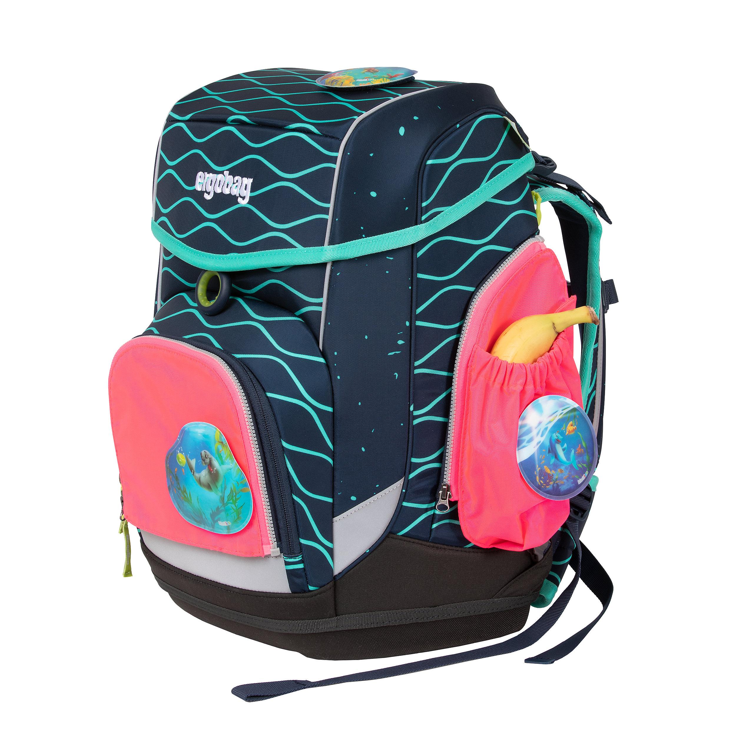 3-tlg. Sicherheitsset mit Seitentaschen für Pack, Cubo und Cubo Light