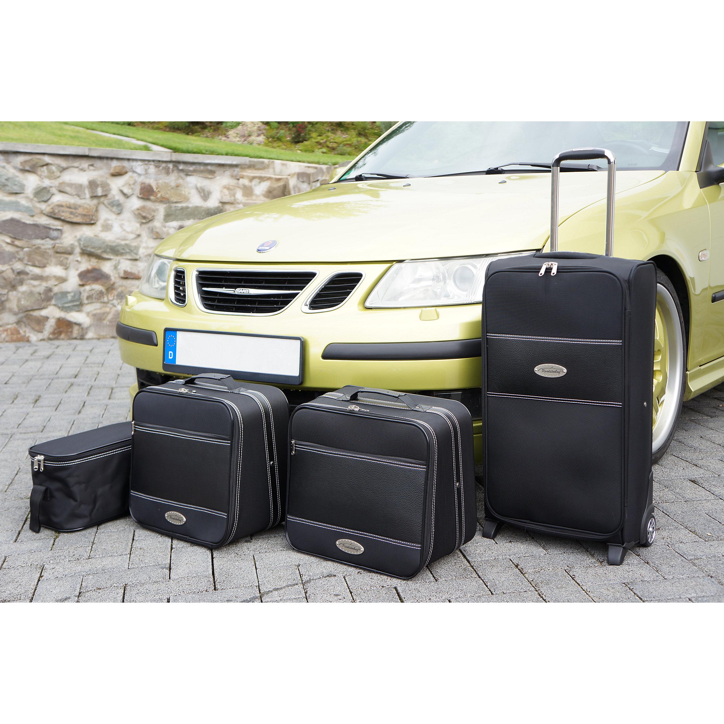 4-tlg. Kofferset mit 2 Rollen Saab 9-3 Cabrio 142 Liter