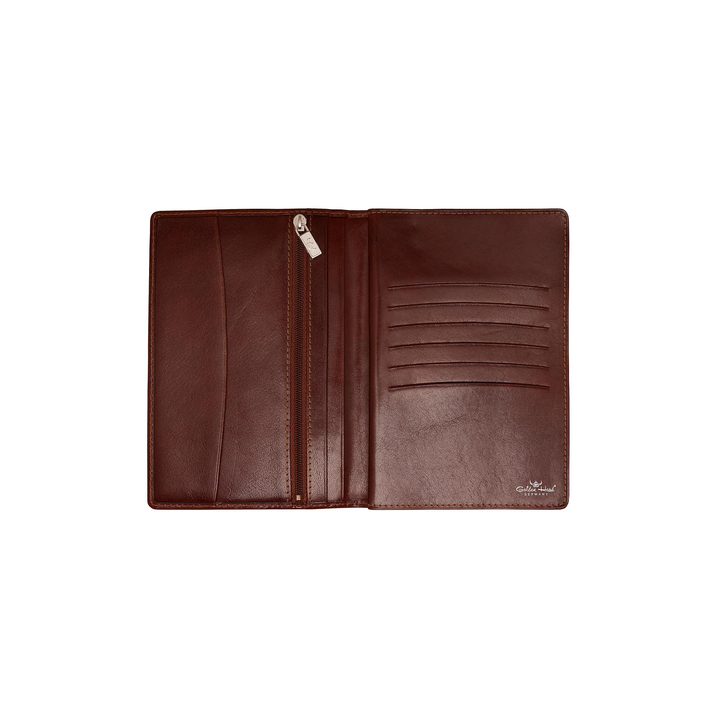 Brieftasche mit Reißverschluss 6KK