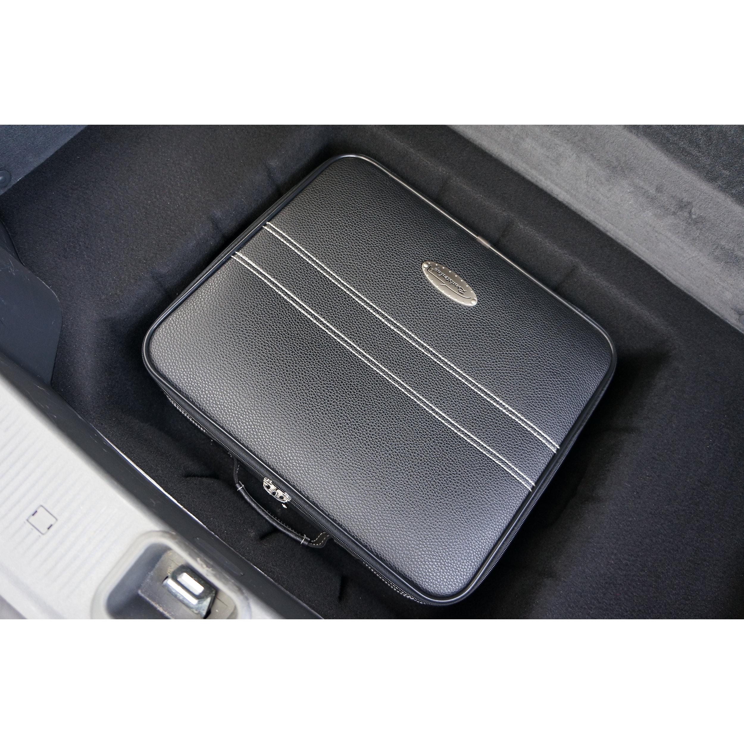 3-tlg. Kofferset mit 2 Rollen Mercedes SL R230 141 Liter